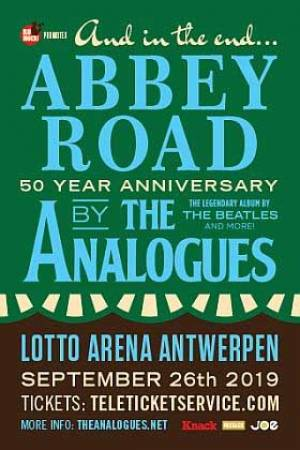 The Analogues - 50 year 'Abbey road' - The Analogues doet The Beatles haast letterlijk herrijzen uit de doden