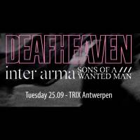 Deafheaven - Inter Arma - Sons of A Wanted Man - 'De ene intensieve mokerslag na de andere'