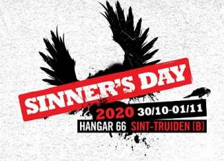 Sinner's Day 2020 - van 30 oktober t-m 01 november 2020 - Hangar 66, Sint-Truiden - Preview